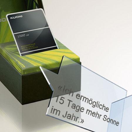 4B Fenster AG – Mailing Sonnenschutz