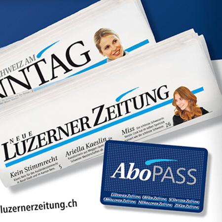 Neue Luzerner Zeitung – Streuwurf zur Abonnentengewinnung