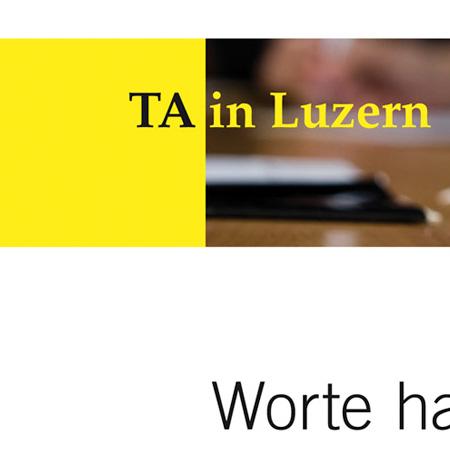 TA in Luzern – Erscheinungsbild
