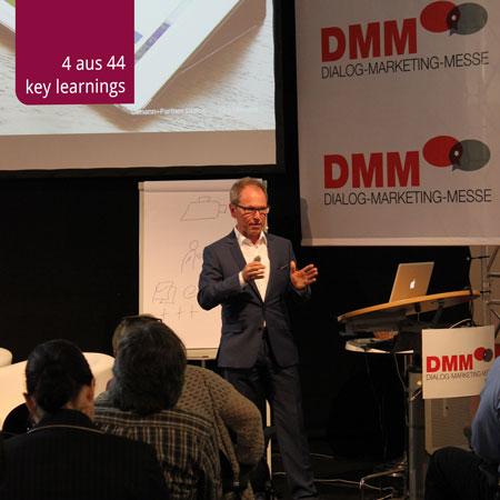 Referat von Jürg Ulmann an der Dialog-Marketing-Messe 2015
