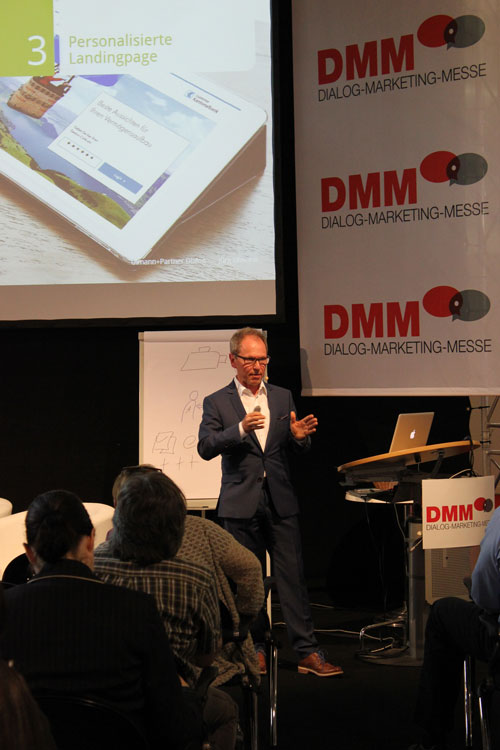 Referat von Jürg Ulmann an der Dialog-Marketing-Messe 2015