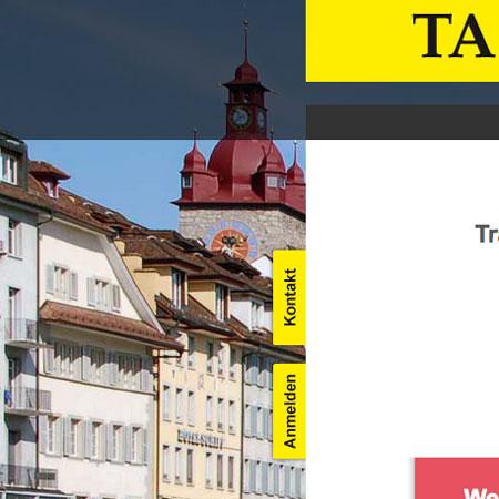 TA in Luzern – Website
